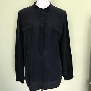 Talbots black top sz L